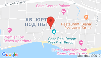Google map: Sveti Vlas Aqua Dreams